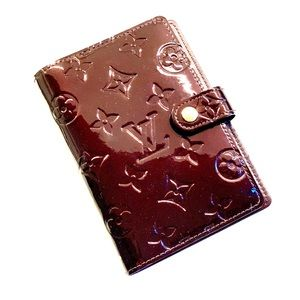 Louis Vuitton Patent Leather Agenda Book